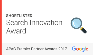 Google APAC Premier Partner Award 2017
